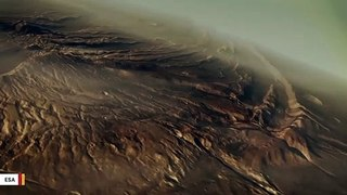 Scientists Say Ancient Mars May Have Been Home To Hot Springs