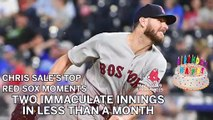 Happy Birthday Chris Sale! Celebrate His Top Moments With Red Sox