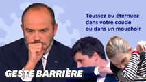 Gestes barrières: Edouard Philippe donne le mauvais exemple