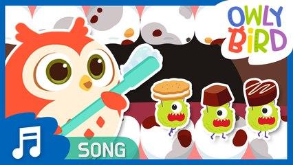 Brush Your Teeth | Tooth Brushing Song | Nursery Rhymes | OwlyBird | Kids Songs