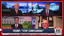 "Trump: ""Cryin"" Chuck Schumer Should Stop Complaining"