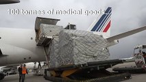 Coronavirus: 5.5m masks arrive in France from China