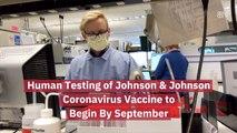 Johnson And Johnson Coronavirus Vaccine Testing