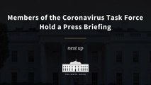 Members of the Coronavirus Task Force Hold a Press Briefing
