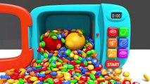 Learn Colors Bunny Mold and Cake Blender Toy Soccer Ball Finger Family Song for Kids Children