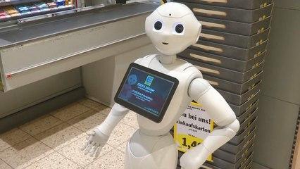 Kruidenierswinkel 'huurt' Coronavirus-robot