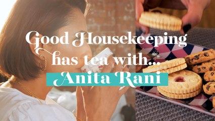 Anita Rani has tea with Good Housekeeping