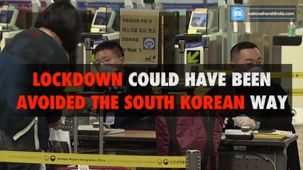 Lockdown could have been avoided, the South Korean way