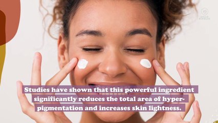 "Niacinamide, or vitamin B3, may be the secret to ""lit from within"" radiant skin"