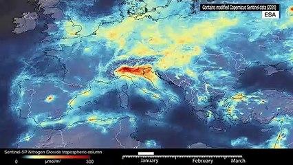 "ESA: Coronavirus-led drop in air pollution is but a ""short blip"""
