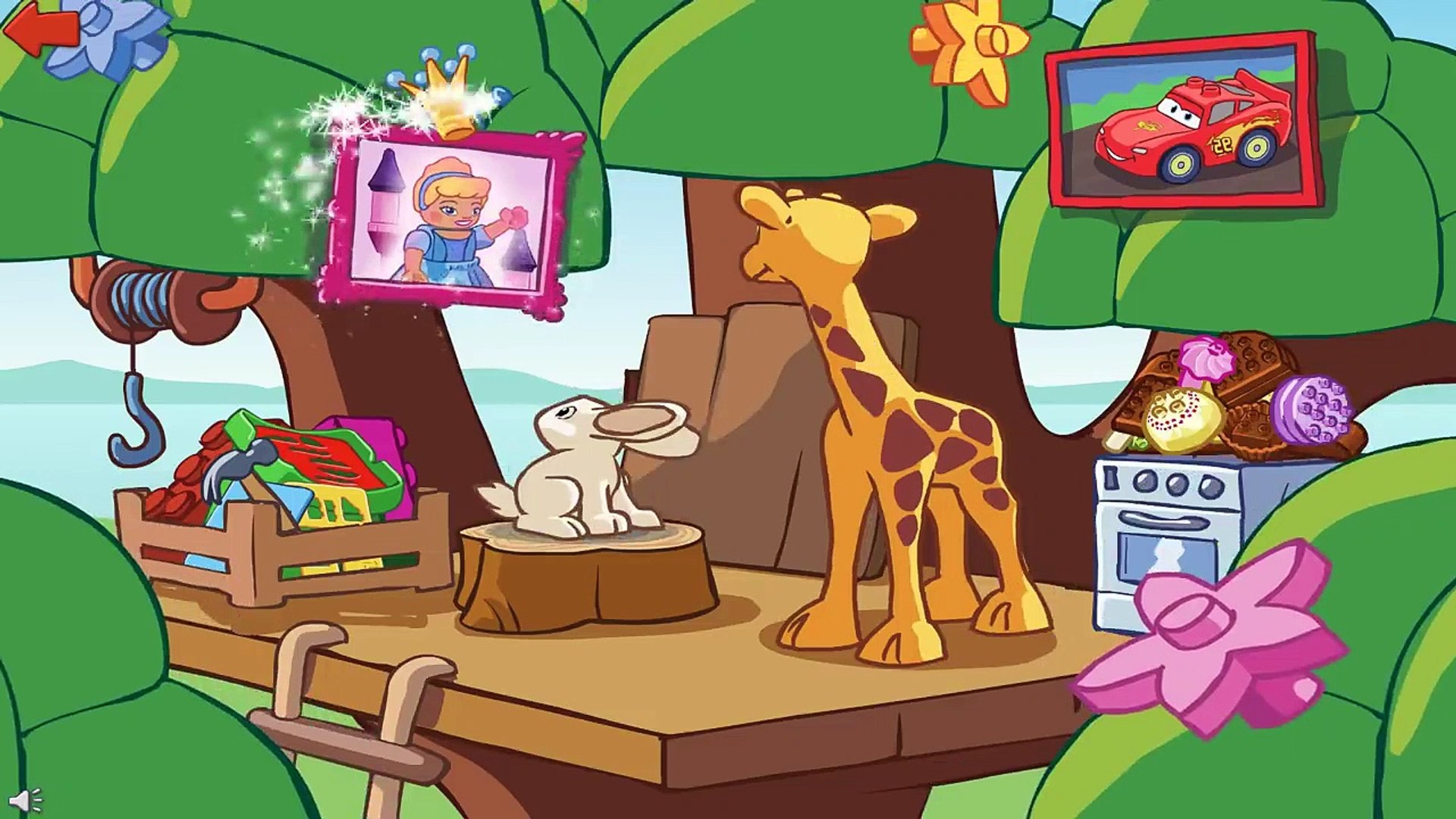 Best Game LEGO DUPLO Cartoon Mini Stories Fun Lego Education Cartoon_Games ! Kids Toddlers ! 3d kids