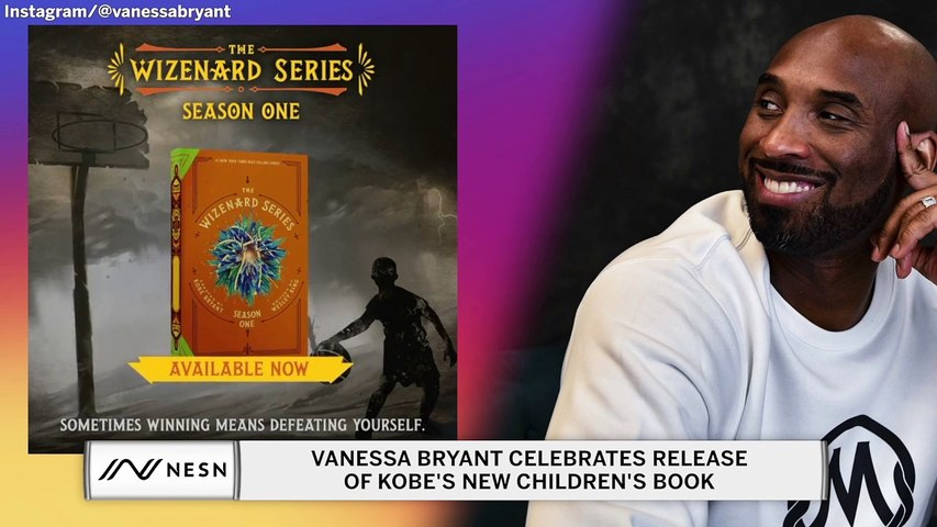 Vanessa Bryant celebrates the release of Kobe's book on Instagram