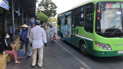 TPHCM: Tạm ngưng hoạt động xe buýt trên toàn địa bàn