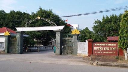 Ủy ban kiểm tra Thanh Hóa kiểm tra huyện Yên Định