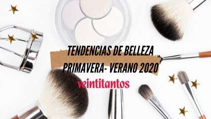 Tendencias de maquillaje y peinado Primavera-Verano 2020