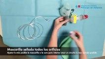 Este es el dispositivo para pacientes de coronavirus que han ideado en un hospital de Madrid