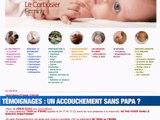 Confinement : un accouchement sans papa ? -  Reportage TL7 - TL7, Télévision loire 7
