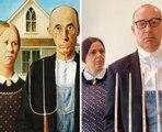 Pour occuper les gens, des musées leur demandent de recréer des peintures célèbres