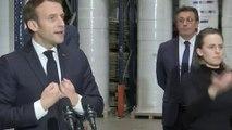 Le Président Macron appelle l'ensemble des français à l'unité pour gagner la guerre contre le virus