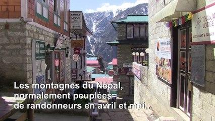 Coronavirus: la fermeture de l'Everest frappe l'économie des hauts sommets