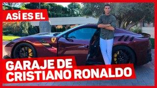 VÍDEO: así se queda el garaje de Cristiano Ronaldo después de su última incorporación, el Bugatti Centodieci
