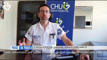 Prise de parole du 1er avril - Docteur Nicolas Desseigne, SAMU