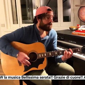Tommaso Paradiso - 31-3-20 - Rai 1