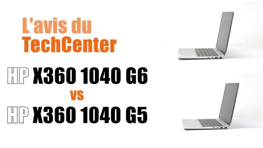 En direct du TechCenter Céleris le nouveau HP X360 1040 G6 vs G5