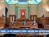 Crise sanitaire : la CCI s'inquiète pour les entreprises de la Loire -  Reportage TL7 - TL7, Télévision loire 7