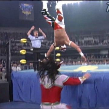 WCW Starrcade 1996 Jushin Thunder Liger vs Rey Mysterio HD