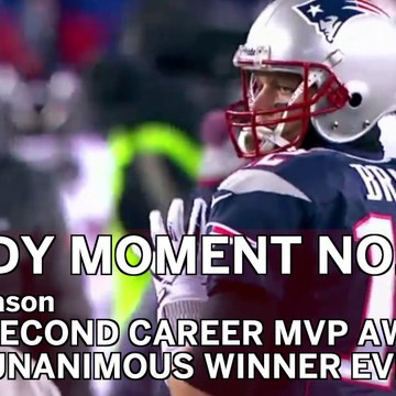 Tom Brady No. 11 Moment: QB Becomes First Unanimous MVP In NFL History