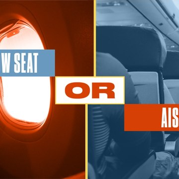 Either, Or: Do the Top Pros Prefer the Window or Aisle Seat?