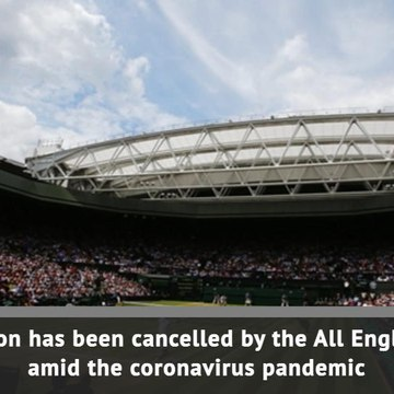 BREAKING NEWS: Wimbledon cancelled in 2020