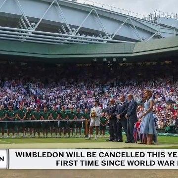 Wimbledon Is Cancelled
