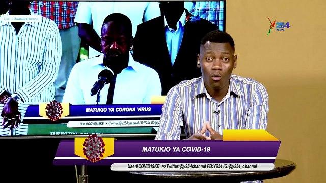 Matukio Ya Covid19, idadi Imeongezeka Mpaka 42
