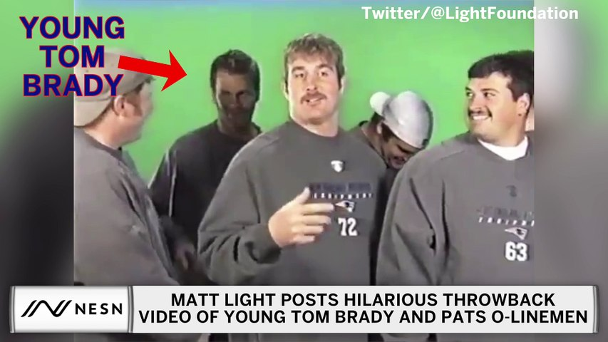Young Tom Brady, Patriots Linemen Star In Hilarious Mustache Video