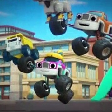 Blaze And The Monster Machines Season 5 Episode 8 Recycling Power!