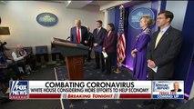 Breaking News Trump says US is on wartime footing in battle against coronavi