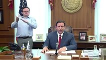 Florida's DeSantis issues coronavirus stay-at-home order
