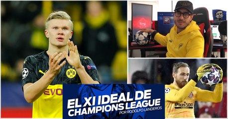 El XI ideal de la Champions League