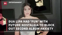 Dua LIpa Stays Fun