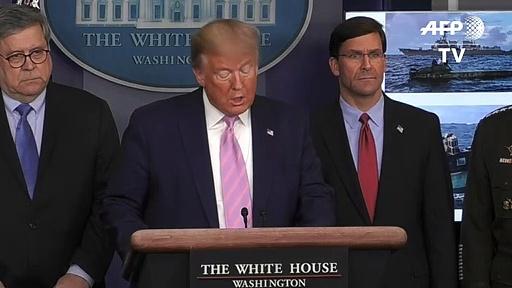Trump lança dúvidas sobre números do coronavírus na China