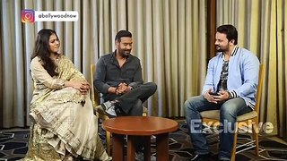 Ajay Devgn And Kajol AMAZING FUN Rapid Fire On Hits-FLOPS, Acting,Gossip, On Set MASTI! EXCLUSIVE
