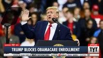 Trump Shuts Down Obamacare