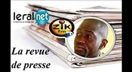 ZikFM - Revue de presse Fabrice Guéma du Jeudi 02 Avril 2020