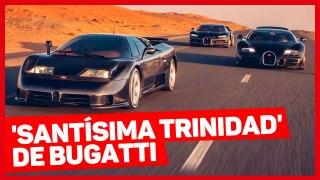 VÍDEO: ¿Con cuál de estos tres Bugatti te quedas?