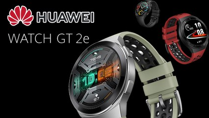 Huawei Watch Gt 2e 2 Weeks Battery Life 100 Workout Modes And Spo2 Monitor Video Dailymotion
