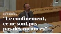 Edouard Philippe tacle les Français en confinement dans leur maison secondaire en province