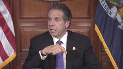 Governor Andrew Cuomo gives his daily coronavirus update for New York state