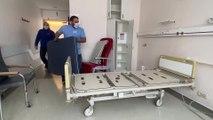 Coronavirus: installation d'un centre de transit pour les patients âgés soignés du covid-19, à l'hôpital Saint-Joseph de Liège